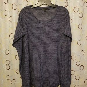 Dark blue dolman sleeve top. Like new.